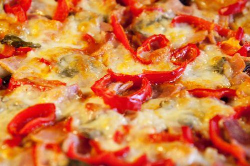 fonas, sūris, vakarienė, greitai, riebalai, maistas, gurmanams, izoliuotas, ispanų, šiukšlių, maistas, mozzarella, grybai, pepperoni, pica, Salami, topping, dangteliai, tradicinis, pica topping