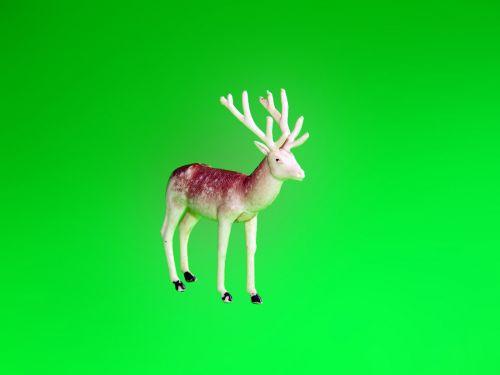 plastmasinis, šiaurės elniai, Kalėdos, xmas, santa, plastinis elnias