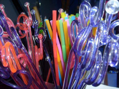 šiaudai, šiaudai, plastmasinis, baras, kokteilis, gėrimai, sip, plastikiniai šiaudai