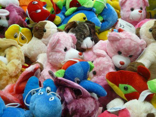 pliušiniai žaislai,meškiukai,rožinis,spalvinga,Minkšti žaislai,žaislai,vaikai,Teddy,žaisti,Minkšti žaislai,linksma