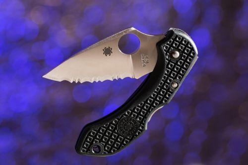 peilis, ašmenys, dantytas, supjaustyti, pen-peilis, kišenės & nbsp, peilis, aštrus, pjaustymas, pjaustymas, mėlynas, Kišeninis peilis