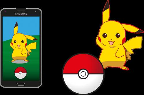 pokemonas,pokemon go,Pikachu,pokeball,samsung,app,ekranas,išmanusis telefonas,žaidimai,Nintendo,liečiamas ekranas,rodyti,komiksas,gps,video žaidimas,nemokama vektorinė grafika