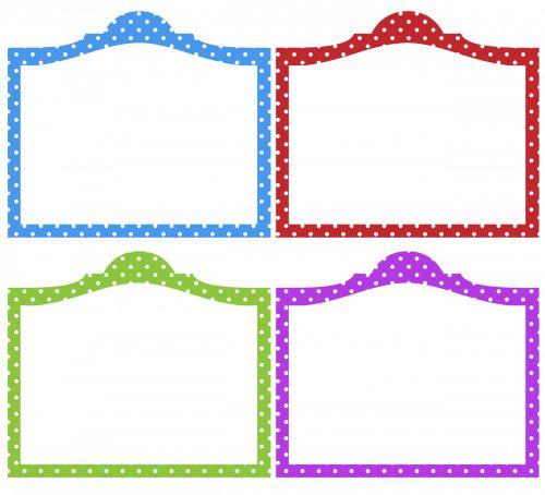 rėmas, rėmai, polka & nbsp, taškų, taškai, dėmės, Scrapbooking, raudona, mėlynas, žalias, violetinė, polka & nbsp, dot, polka dot rėmeliai