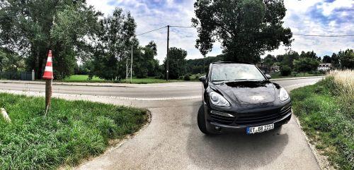 Porsche, cayenne, suv, visureigė, Sportinė mašina, eismas