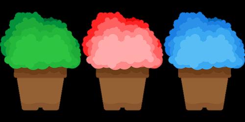 pasodintas augalas, Gelės vazonas, Skandia atminties, samanos, Anotacija, žalumos, žalumos, mėlyna, žalias, valymas, miške, mediena, augalai, pobūdį, Sodas, pavasaris, apdailos, ornamentu, Nemokama vektorinė grafika, Nemokama iliustracijos