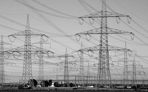 galios poliai,pilonas,Strommast,dabartinis,jėgos linija,elektra,energija,aukštos įtampos,maitinimas,linija,fiksuotojo ryšio linija,elektros laidai,sustiprinti,elektrik,elktrizitaet