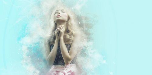 melstis,tikėjimas,fėja,viltis,troškimas,svajonė,Šviesiaplaukis,moteris,mergaitė,Photoshop,dangaus,veidas,malda