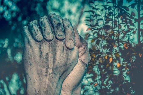 melstis, rankos, melstis rankas, skulptūra, malda, Religija, tikėjimas, tikiuosi, krikščionybė, ranka, pirštu, sulankstyti