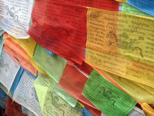 maldos vėliavos,tibetietis,spalva