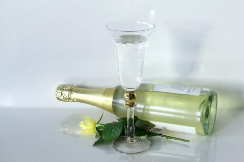prosecco,laimingas,šampanas,rožė,sėkmė,Naujųjų metų diena,prost,putojantis vynas