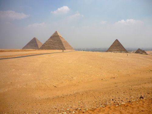 piramidė,piramidės,Egiptas,dykuma,gizeh,smėlis,Kairas,dangus,akmeninė dykuma