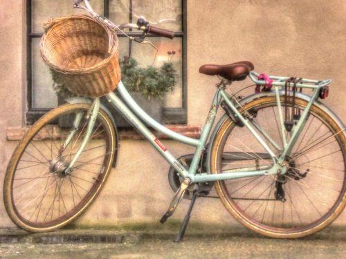 dviratis, dviračiai, dviratis, pastatytas, važiuoti, Jodinėjimas, ratas, ratai, krepšelis, nuostabus, Šalis, nuostabus dviratis