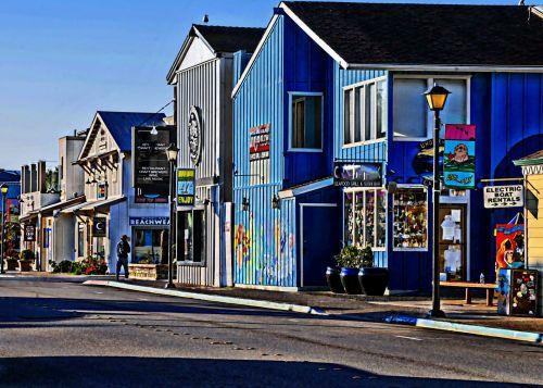 Miestas, miestas, papludimys, Morro & nbsp, įlankoje, nuostabus, nuostabus miestas prie jūros