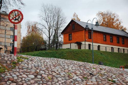 krantinė,akmuo,grindinis akmuo,namas,ženklas,pskovas,miestas,Rusija,graži vieta,gatvė,gamta