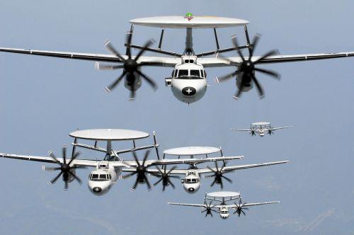 Radaras, Orlaivis, Eskadra, Žvalgybinis Orlaivis, Suvokti, Radaro Indas, Awacs, Kariuomenė, Propelerio Plokštuma