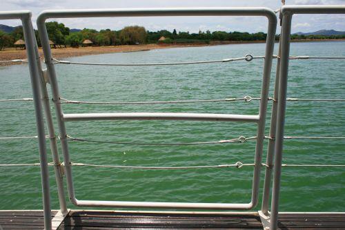turėklai, apsauga, kruizas & nbsp, laivas, vanduo, kruizinių laivų turėklai