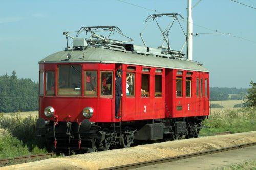 geležinkelis,istoriškai,geležinkelis,muziejaus lokomotyvas,nostalgija,geležinkelio nostalgija,elektrinis vagonas,Tamara,raudona,senas