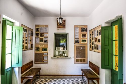 traukinių stotis,interjeras,bilietų kambarys,senas,vintage,milies,pelion,Graikija