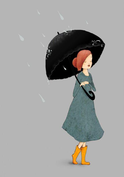 lietus,mergaitė,skėtis,oras,šlapias,linksma,žmonės,Moteris,batai,gumboots,Lady,panele lietus,lietus,drėgnas oras