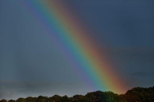 vaivorykštė,dangus,lietus,nuotaika,kraštovaizdis,spalva,dviguba vaivorykštė,vaivorykštės spalvos,farbenspiel,Gamtos stebūklai,spektras,lašas vandens,dvigubas,oras,debesys,saulė,gamta