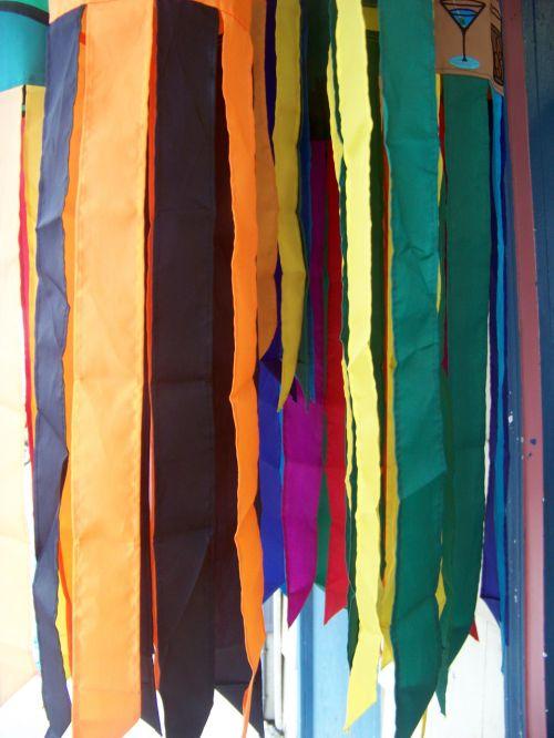 newport, oregonas, vėliavos, vaivorykštė, windsock, vaivorykštės vėliavos