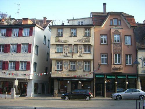 ravensburgas,centro,Viduramžiai,prekyvietė