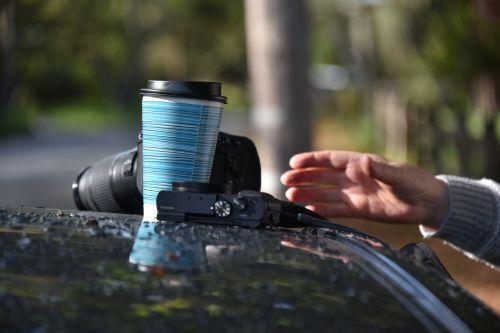kava, ranka, pasiekti, taurė, rytas, pusryčiai, fotoaparatas, fotoaparatai, automobilis, veiksmas, įprastas, kiekvieną dieną, pasiekti kavą