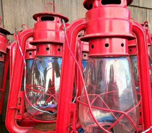 žibintai, raudonos & nbsp, žibintai, šviesa, žibintai, kempingas, raudoni kempingų žibintai