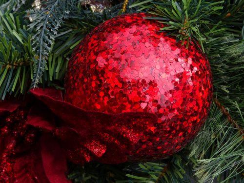 Kalėdos, santa, Claus, medis, medžiai, beabilis, bambukai, apdaila, dekoracijos, dekoruoti, xmas, šventė, atostogos, linksmas, laimingas, pateikti, dovanos, raudona blizganti drožyba