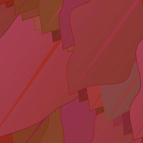 fonas, vaizdas, raudona, lapai, spalva, tapetai, gradientas, piešimas, raudoni lapai
