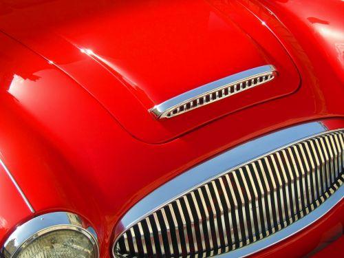 raudona & nbsp, automobilis, sportas & nbsp, automobilis, gaubtas, variklio gaubtas, priekinis, automobilis, raudona, transporto priemonė, automatinis, automobilis, greitis, gabenimas, dizainas, Sportas, variklis, galia, transportas, greitai, variklis, automobilis & nbsp, lenktynėse, Britanija, Anglų, klasikinis & nbsp, automobilis, vintage & nbsp, automobilis, veteranas & nbsp, automobilis, lenktynės & nbsp, automobilis, greitas & nbsp, automobilis, lenktynės, raudonas vintage automobilis