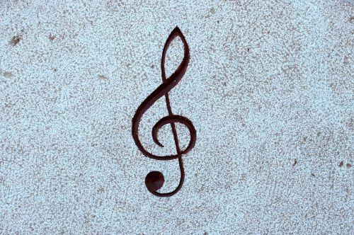 palengvėjimas,akmuo,pastaba,muzika,treble clef,clef