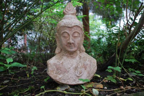 religija,Budos figūra,sodas,asija,Rytų religija,meditacija,menas,galva,akmens figūra