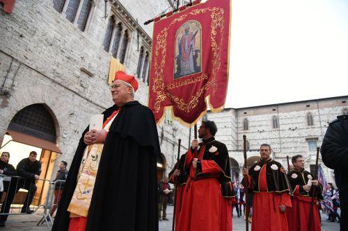 religinis procesija,kardinolas bassetti,religija,katalikų religija