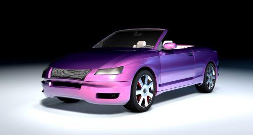 atvaizdavimas,3d modelis,fantazija,automatinis,labai,dažai,egzotiškas,transporto priemonė,modelis automobilis,metalinis,rožinis,mėlynas,prašmatnus