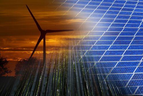 atsinaujinanti,energija,atsinaujinanti energija,saulės energija,fotoelementas,vėjo energija,bambukas,žalias,aplinka,ekologija,aplinkosauga,karta,atsinaujinanti energija,tvarus,koliažas