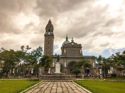 Filipinų respublika,Manila,katedra,bažnyčia
