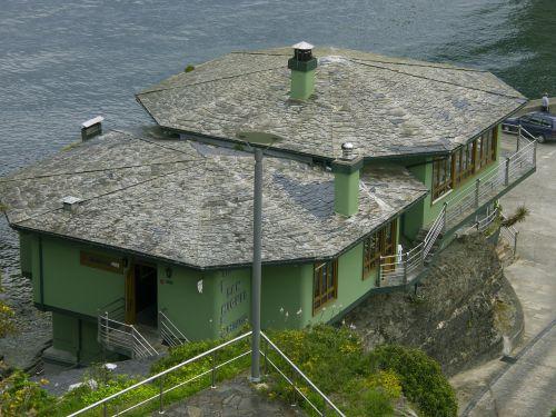 restoranas,jūra,ribadeo lugo