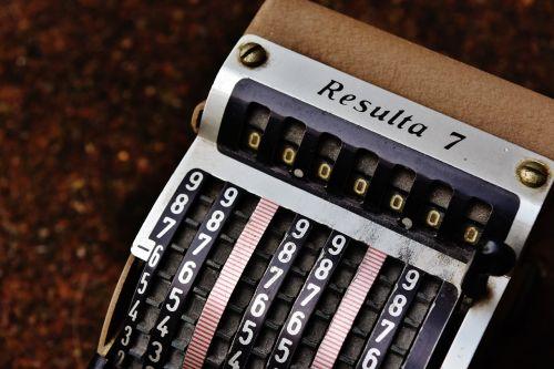 Rezultatas 7,senas abacus,Senovinis