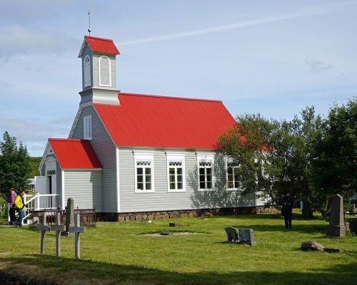 Reykholt,iceland,bažnyčia