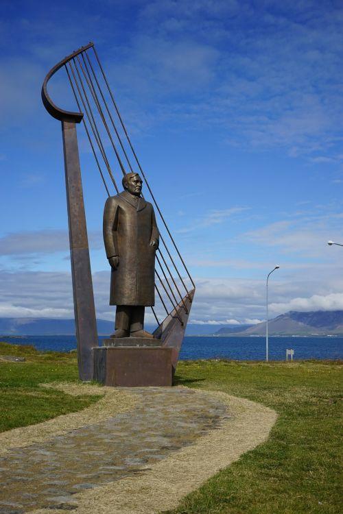 Reikjavikas,skulptūra,iceland