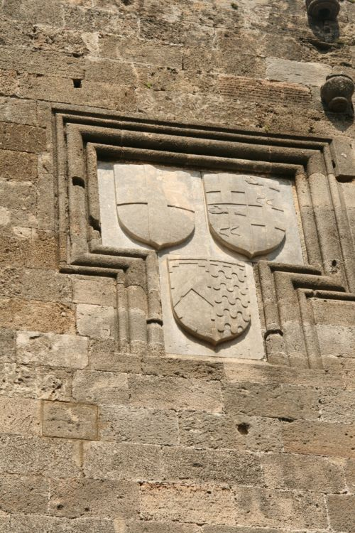 Rhodes, emblema, crest, Rodo emblema
