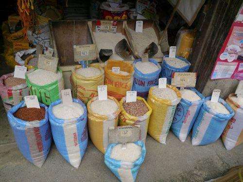 ryžiai,maišas,rudieji ryžiai,balti ryžiai,basmati,maistas