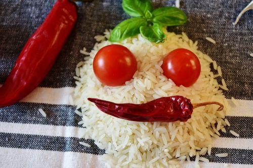 ryžiai,ryžių grūdai,maistas,ryžių grūdai,grūdai,balta,grūdai,mityba,natūralus produktas,virėjas,jazminų ryžiai,valgyti,pomidorai,čili