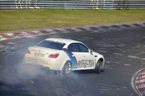žiedas taksi,Nürburgring,dreifas