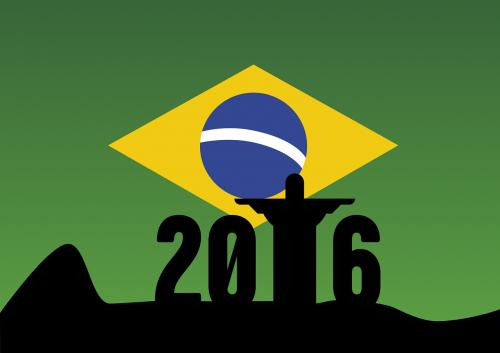 rio,2016,olimpiada,vėliava,Brazilija,olimpinės žaidynės,Sportas,Rio de Žaneiras,varzybos,jaunimas,sporto jaunimas,krikščionio statula,Cristo Redentor,kalnas,metai,simbolinis,grafika,nemokama vektorinė grafika