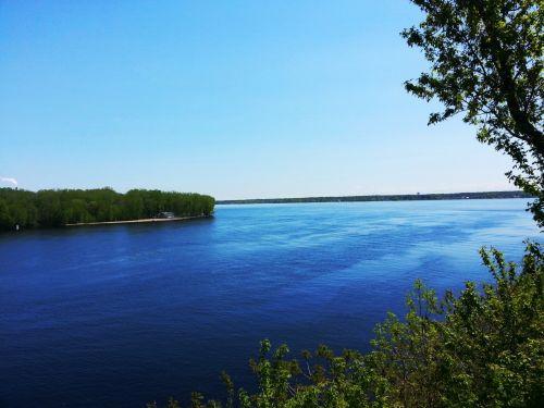 upė, srautas, vasara, sezonas, gamta, vanduo, kraštovaizdis, upė