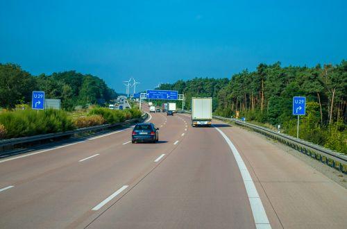 kelias,Lenkija,trasa,greitkelis,greitkelis,judėti,kelionė,greitis