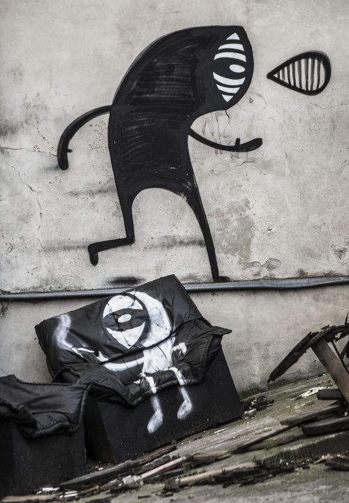 kelias,menas,gatvės menas,dažymas,modernus menas,miesto,fjeras,grafiti,meno kūriniai,Hauswand,siena