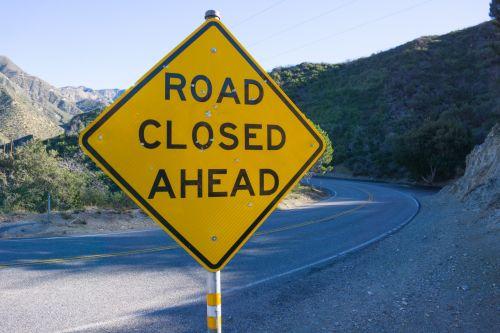 automobilis, uždarytas & nbsp, į priekį, pavojus, vairuotojas, vairuotojo & nbsp, įstatymai, greitkelis, los & nbsp, angeles, kelias, kelias & nbsp, uždarytas, kelias & nbsp, ženklas, ženklas, gatvė, įspėjimas, įspėjimas & nbsp, ženklas, kelias, oras & nbsp, ženklas, geltona, kelio įspėjimo ženklas